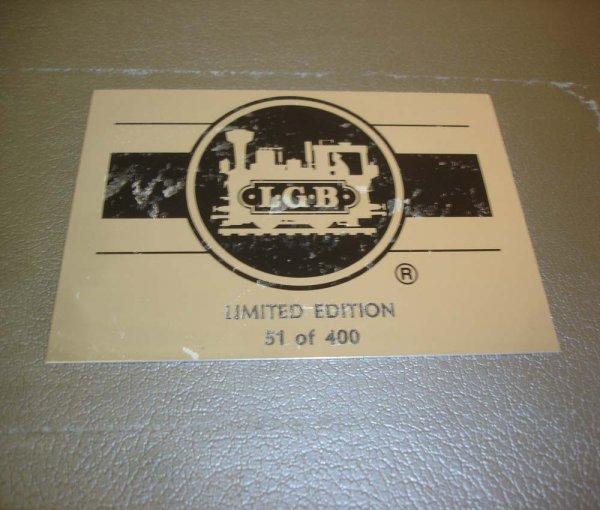275: ABT: LGB NYC Passenegr Set in Silver Trunk - 2