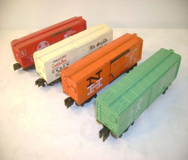 492: ABT: 4 AF Box Cars from the 1960s