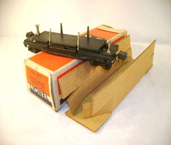 1046: ABT: Lionel #3811 Remote Control Lumber Car/ OB+