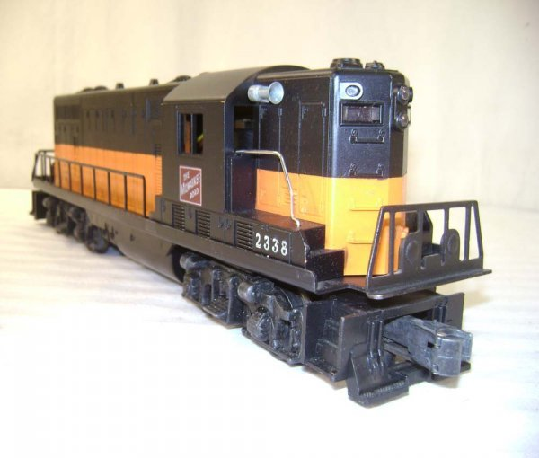 614: ABT: Lionel #2338 Milwaukee Road GP Diesel