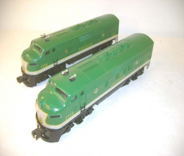 615: ABT: Lionel #2356 Southern F-3 AA Diesels