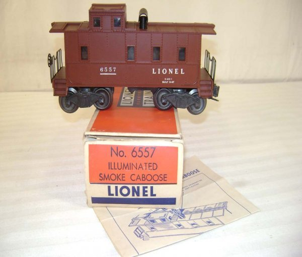 621: ABT: Lionel #6557 Smoking Caboose/OB