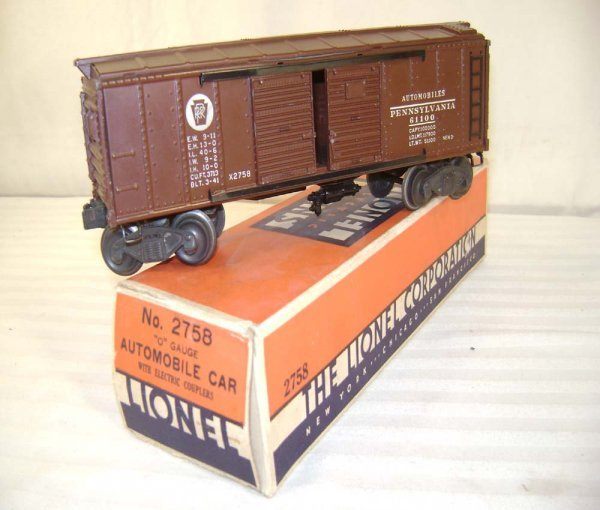622: ABT: Lionel #2758 1946 Pennsylvania Box Car/OB