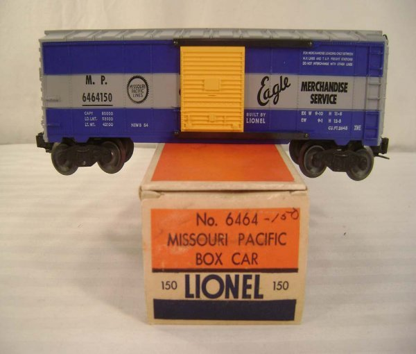 623: ABT: Lionel #6464-150 MP Box Car (Right Eagle)/OB