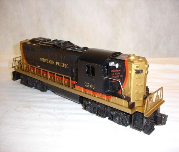 2: ABT:Lionel #2349 Northern Pacific GP-9 Diesel