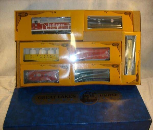 10: ABT:Mint/Sealed Lionel #1160 Great Lakes Ltd Set/OB