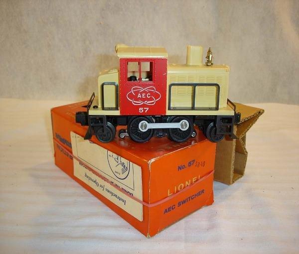 24: ABT:Great Lionel #57 AEC Switcher/Brick OB+