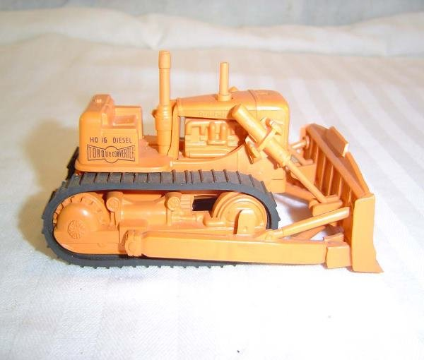 34: ABT: Scarce Lionel #6816 Opaque Orange Bulldozer