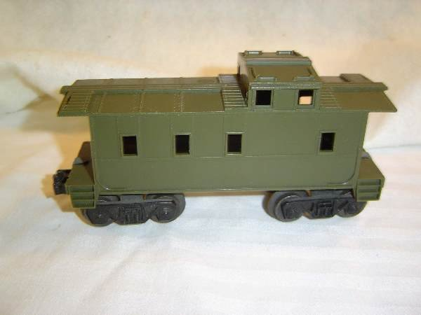 49: ABT:Scarce Lionel #6167 Type Olive Drab Caboose