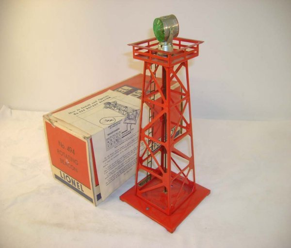 12: ABT: Lionel #494 Red Operating Beacon/56+ OB