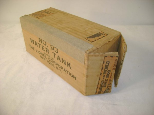 277: ABT: Brick Lionel #93 Water Tank Original Box