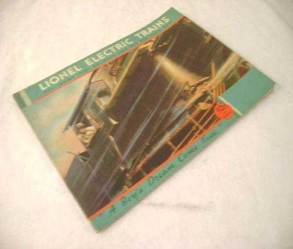 288: ABT: Crisp Lionel 1932 Color Consumer Catalog