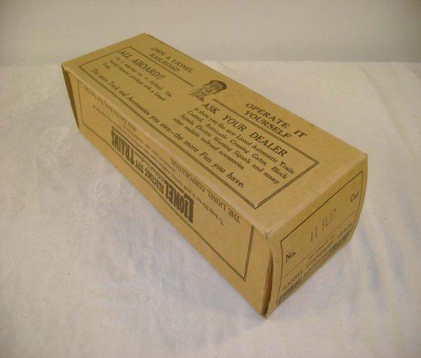 289: ABT: Very Scarce Lionel #11 Flat Car Original Box