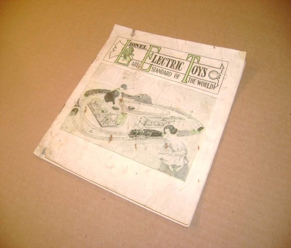 290: ABT: Scarce Lionel 1914 Consumer Catalog
