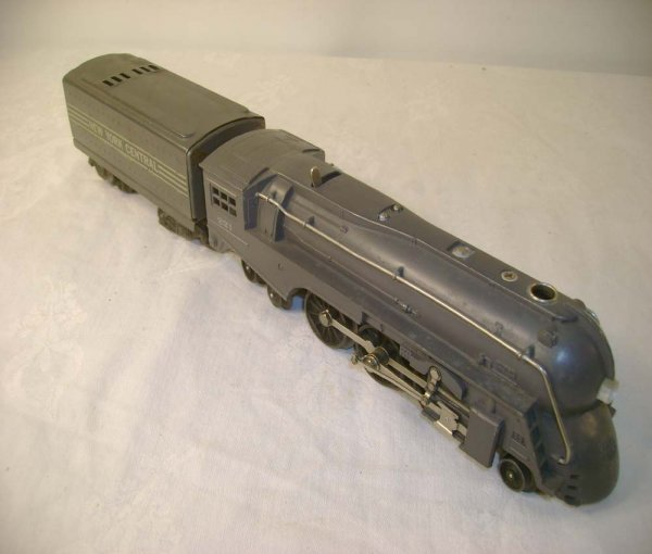 1260: ABT: Lionel #221 Gray Engine & #221W Tender