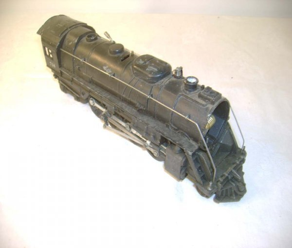 1263: ABT: Lionel #736 Berkshire 1950s Steam Engine