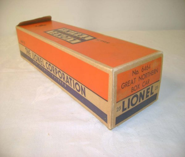 1264: ABT: Lionel #6464-25 GN Box Car Original Box