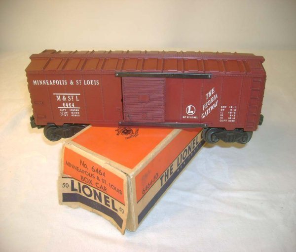 1269: ABT: Lionel #6464-50 M&SL Box Car
