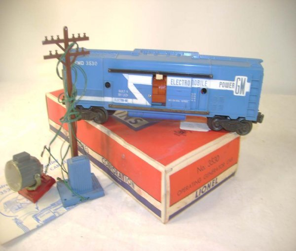 1271: ABT: Lionel #3530 Generator Car Set/OB