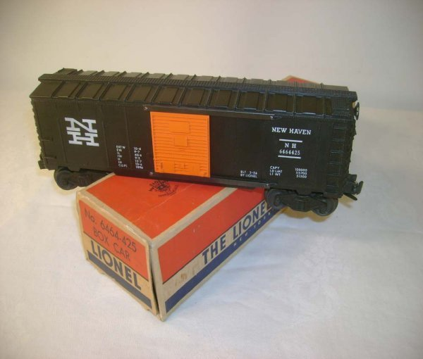 1272: ABT: Lionel #6464-425 NH Box Car/Full-Serif/OB