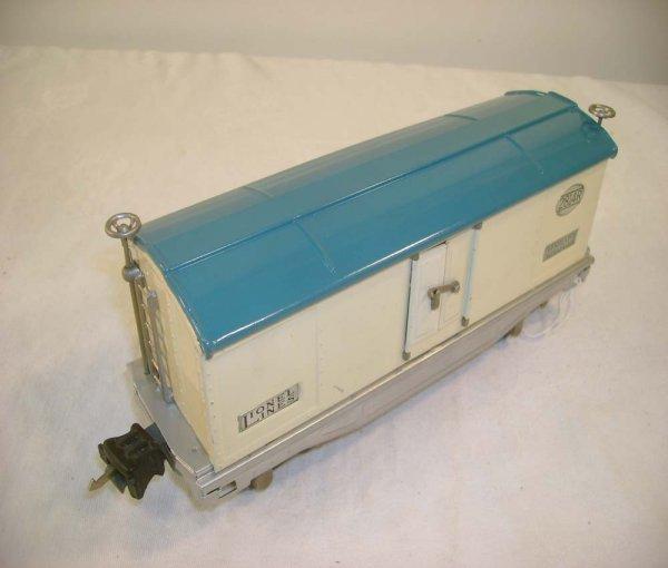293A: ABT: Lionel #2814R White/Light Blue/Alum Reefer