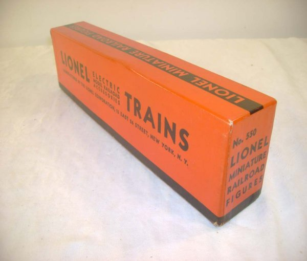 294A: ABT: Original Box & Insert for the #550 Lionel Ra