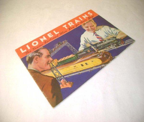 297A: ABT: Crisp Lionel 1934 Color Consumer Catalog