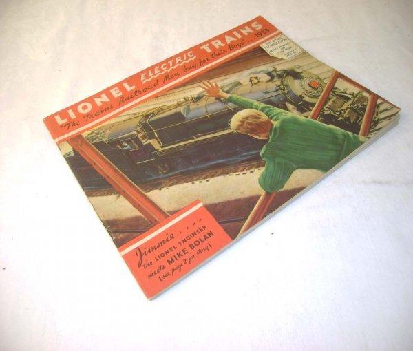 298A: ABT: Crisp Lionel 1933 Color Consumer Catalog