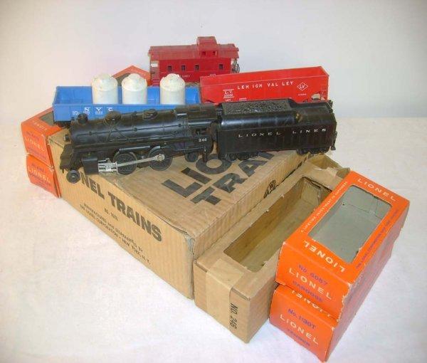 302A: ABT: Lionel #1609 Set Box/Scarce Tan Corrugated S