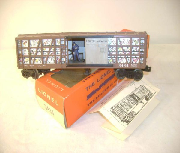 305A: ABT: Lionel #3434 Oper. Chicken Sweeper/66c OB