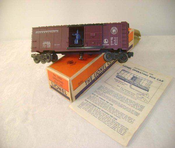 309A: ABT: Lionel #3484 Pennsylvania Box Car/Brick OB