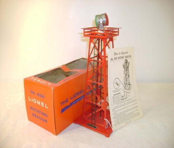 312A: ABT: Mint Lionel #494 Beacon/Brick Cellophane Box