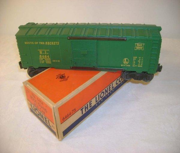 314A: ABT: Lionel #6464-75 Rock Island Box Car/Brick OB