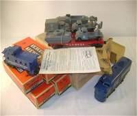 420A: ABT: Mint Lionel #1591 USMC Military Set/ Obs