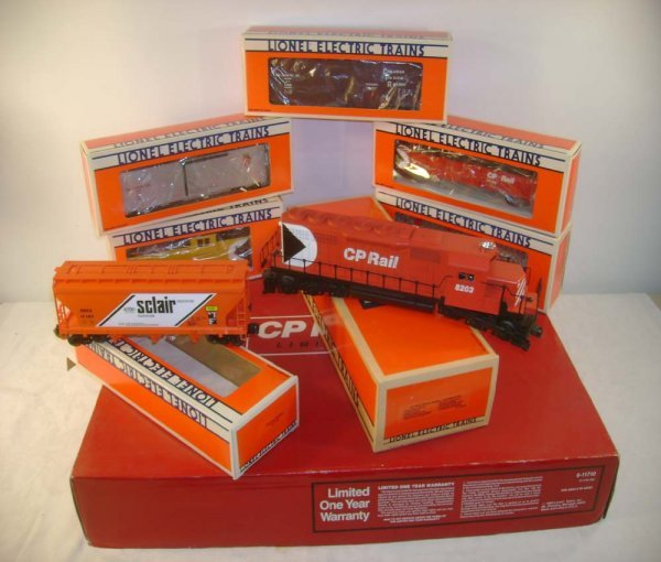 7: ABT: Lionel #11710 CP Rail Limited Freight Set/OB