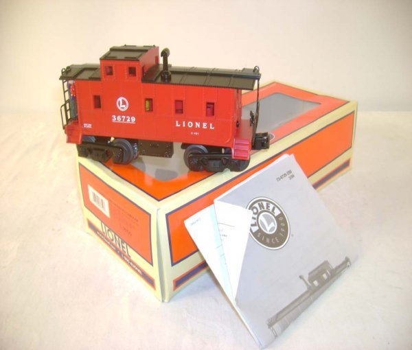 13: ABT: Mint Lionel #36729 Animated Caboose/OB