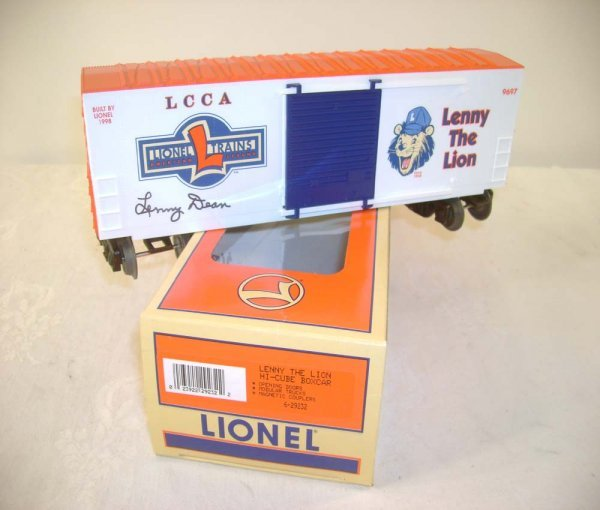 14: ABT: Mint Lionel #29232 signed by Lenny Dean/OB