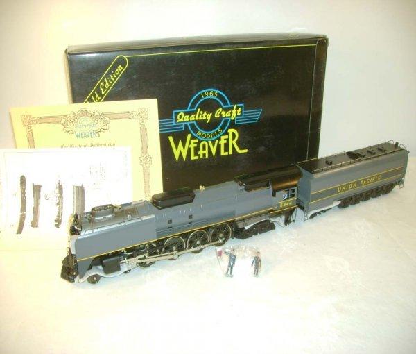 18: ABT: Weaver #8444 UP Gray FEF-3 4-8-4 & Tender /OB