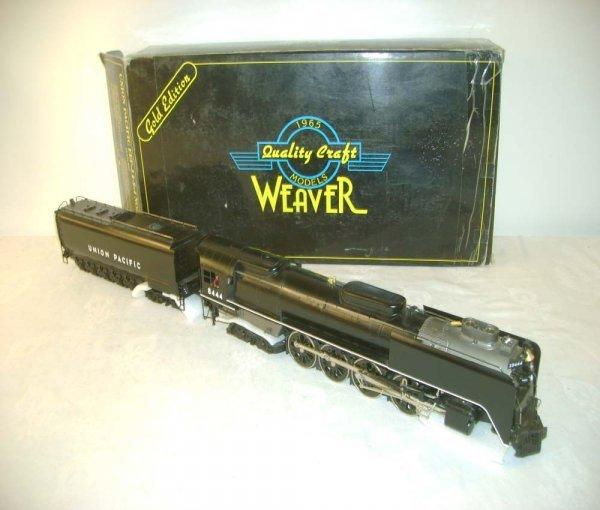 24: ABT: Weaver #8444 UP Black FEF-3 4-8-4 & Tender /OB