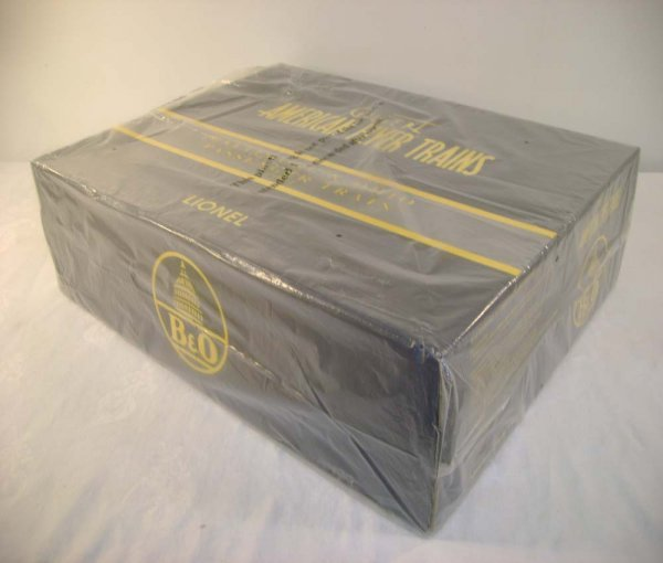 490: ABT: Sealed Lionel/AF #49612 B&O Pass Set/OB