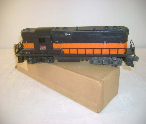 620: ABT: Lionel #2338 Milwaukee Road GP Diesel/OB