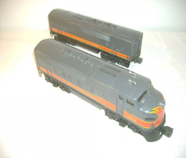 725: ABT: Lionel #2378 Milwaukee Road F-3 Abs