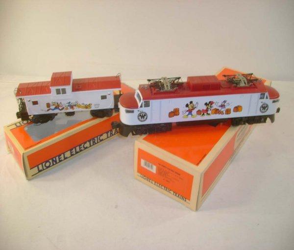 1002: ABT: Lionel #18311 Disney Electric & Caboose/OB