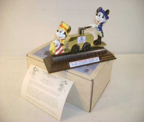 1003: ABT: Pride Lines 1989 TCA Mickey Mouse HandCar /O