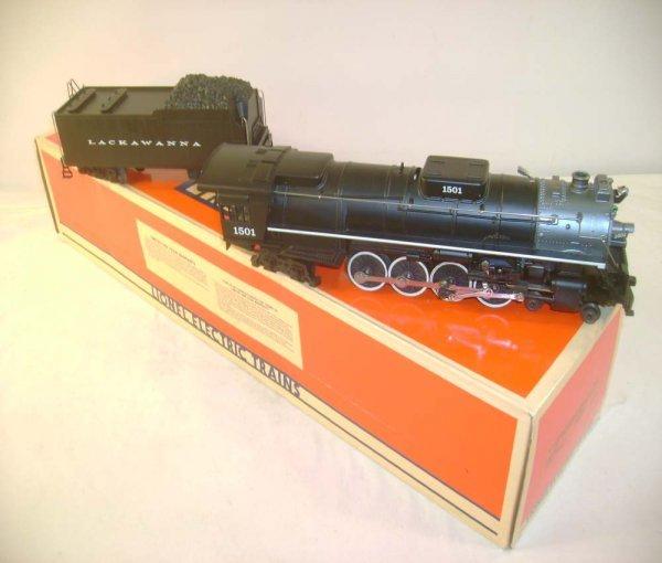 1007: ABT: Lionel #18003 DL &W 4-8-4 Steam & Tender/OB