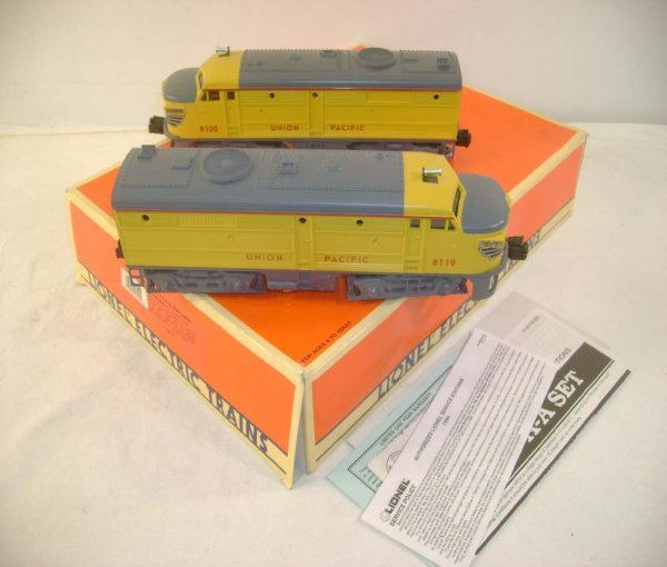 1009: ABT: Lionel #18119 UP Alco AA Diesels/OB