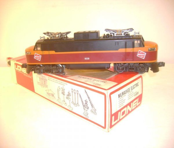 1023: ABT: Great Lionel #8558 Milwaukee Electric/ OB