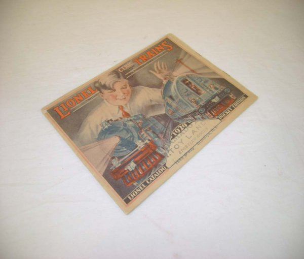 12: ABT: Scarce Lionel 1929 Miniature Consumer Catalog