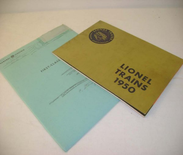 19: ABT: Lionel 1950 Gold Cover Advance Catalog