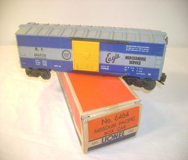 20: ABT: Lionel #6464-150 MP 1st Panel Box Car/ OB